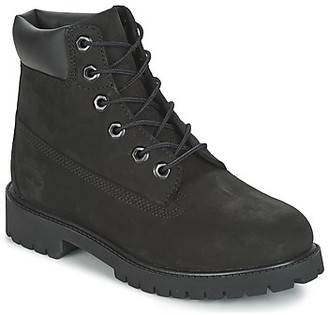 Timberland 6 IN PREMIUM WP BOOT girls's Mid Boots in Black