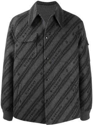 Givenchy jacquard Chaine motif shirt-jacket