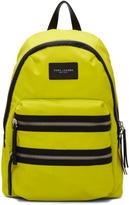 Marc Jacobs Yellow Nylon Biker Backpack
