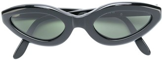 Moschino Pre Owned Cat Eye Sunglasses