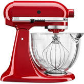 KitchenAid KSM105GBC 5 qt. Stand Mixer with Glass Bowl & Flex Edge Beater