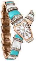 Bvlgari Serpenti Diamond & Turquoise Watch