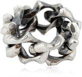 Emanuele Bicocchi Silver Chain Ring
