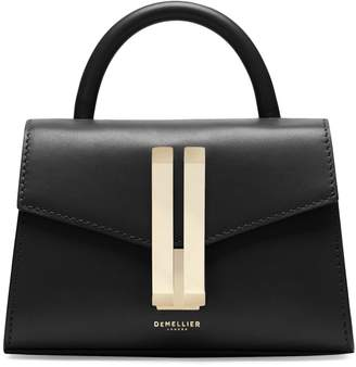 DeMellier Nano Montreal Leather Top Handle Bag