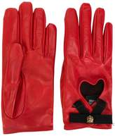 Gucci heart gloves