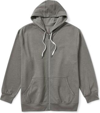 Amazon Essentials Men's Big & Tall French Terry Full-Zip Sweatshirt fit by DXL