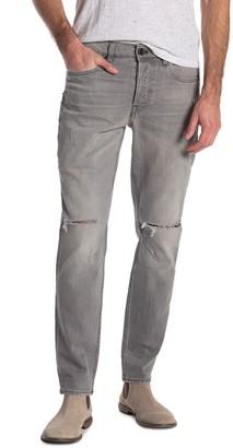 Hudson Sartor Relaxed Slit Knee Skinny Jeans