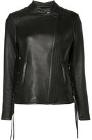 Yigal Azrouel Krispy jacket - women - Leather - 6