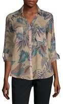Raga Printed Tropic Cotton Button-Down Shirt