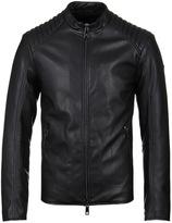 Armani Jeans Black Biker Jacket