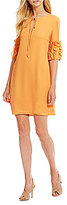 Daniel Cremieux Callie Ruffle Sleeve Dress