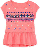 Arizona Short-Sleeve Drop-Waist Tee - Preschool Girls 4-6x
