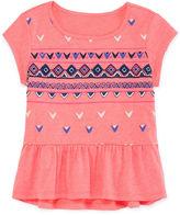 Arizona Short-Sleeve Drop-Waist Tee - Preschool Girls 4-6x