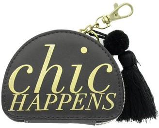 Lady Jayne Zip Pouch Chic Happens Gold Foil