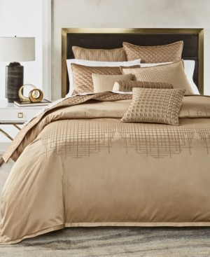 Hotel Collection Closeout! Deco Embroidery Full/Queen Duvet, Created for Macy's Bedding