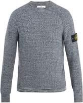 Stone Island Crew-neck cotton sweater