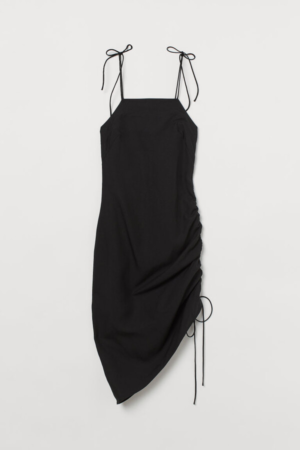 Thumbnail for your product : H&M Lyocell-blend Slip-style Dress - Black