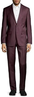 Calvin Klein Extreme Slim-Fit Wool-Blend Suit