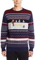 Altamont Men's Bad Santa Christmas Sweater