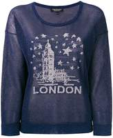 Twin-Set London embroidered sweater