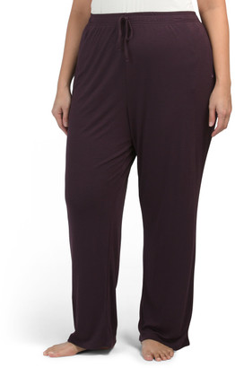 Plus Knit Lounge Pants