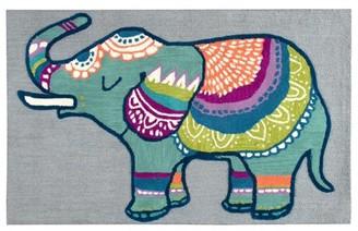 Rizzy Home Elephant Gray 3' x 5' Hand-Tufted Area Rug