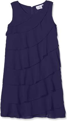 Happy Girls Girl's Dress with Flowing Falling volants