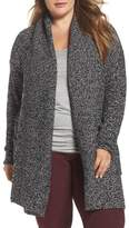 Caslon Plus Size Women's Shawl Collar Cardigan