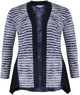 House of Fraser Chesca Tie Dye Stripe Jersey Cardigan