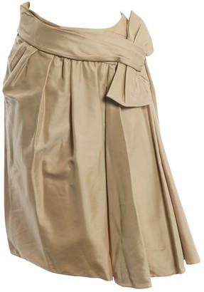 Valentino Beige Viscose Skirts