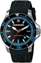 Wenger Women's 0641.104 Sea Force 3 H Analog Display Swiss Quartz Watch