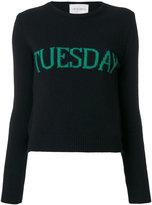 Alberta Ferretti 'Tuesday' jumper - women - Cashmere/Wool - 40