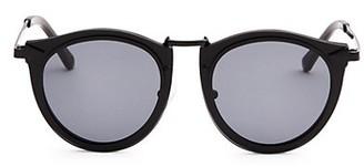 Karen Walker Superstars Sola 54MM Round Sunglasses