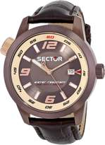 Sector Men's R3251102019 Oversize Analog Display Quartz Watch