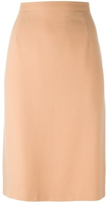 Emanuel Ungaro Pre Owned Straight Midi Skirt