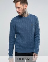 Farah Sweater with Cable Knit Exclusive