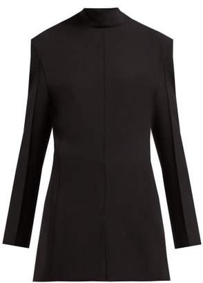 Jil Sander Gehry Stretch-twill Blazer-dress - Womens - Black