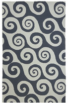 "Horchow ""Walhalla Waves"" Rug"