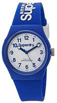 Superdry 'Urban' Quartz Plastic and Silicone Dress Watch