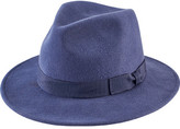 San Diego Hat Company Women's Fedora with Bow WFH8039