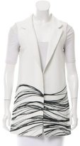 Alexis Abstract Printed Textured Vest