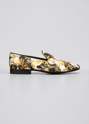 Versace Men's Barocco Slippers