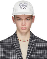 Thom Browne White Tennis Cap