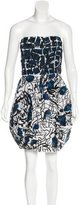 Oscar de la Renta Embellished Mini Dress w/ Tags
