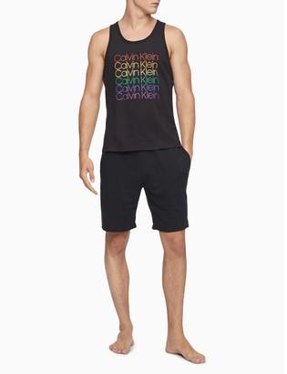 Calvin Klein Pride Repeating Logo Tank Top