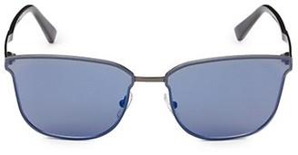Ermenegildo Zegna 64MM Square Sunglasses