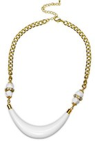 Gottex 18k Plated Crystal & Lucite Necklace.