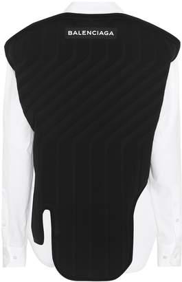 Balenciaga Cotton shirt with vest