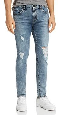 J Brand Mick Super Skinny Fit Jeans in Floritus