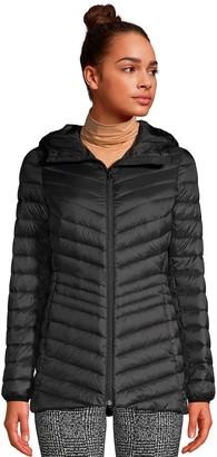 Lands' End Women's Hooded Down Ultralight Packable Jacket